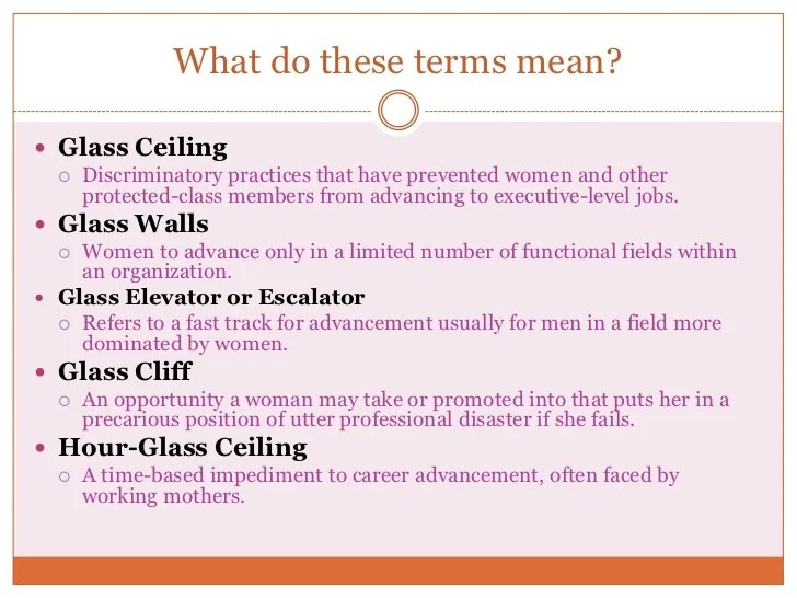 Examples Of Glass Ceiling Www Gradschoolfairs Com. What Causes The Glass  Ceiling Effect ...