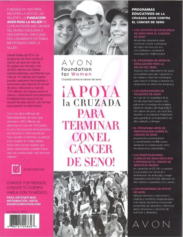 Christmas Avon Recruiting Flyer