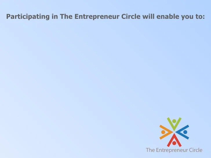 Circle Employees Customers Business Owners