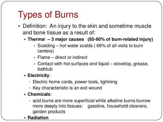 Burns Embrace Discomfort