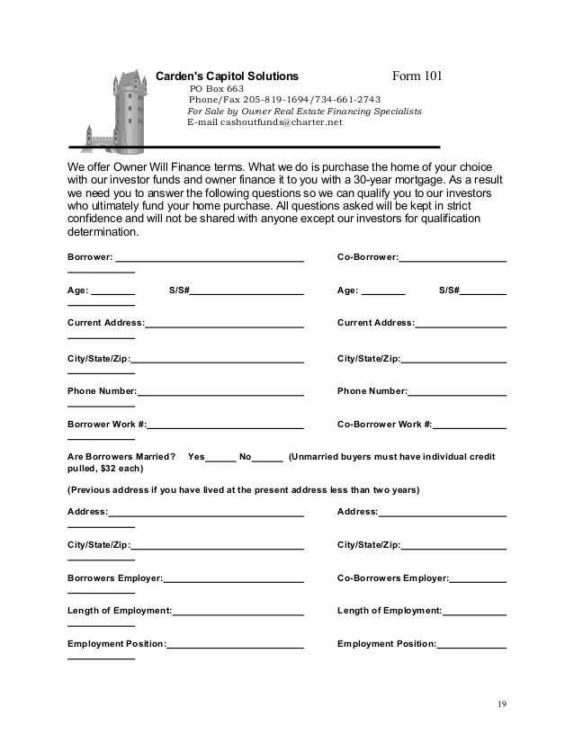 for sale by owner contract form anuvratinfo – Car Sale Contract Template