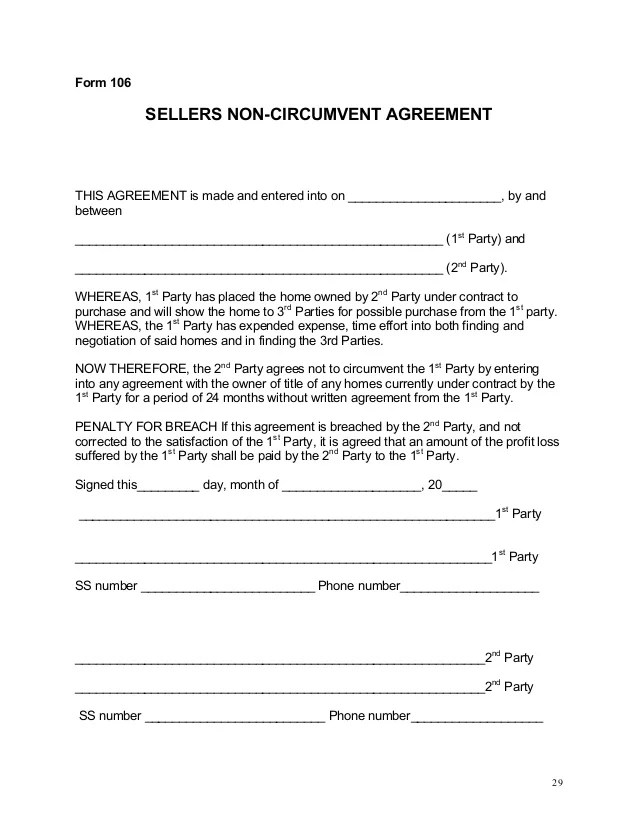 Investor Agreement Template Free business 10 investment – Investor Agreement Template Free