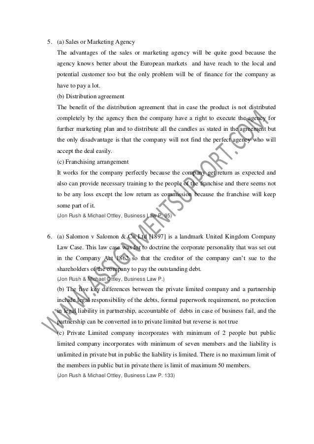 english law essays