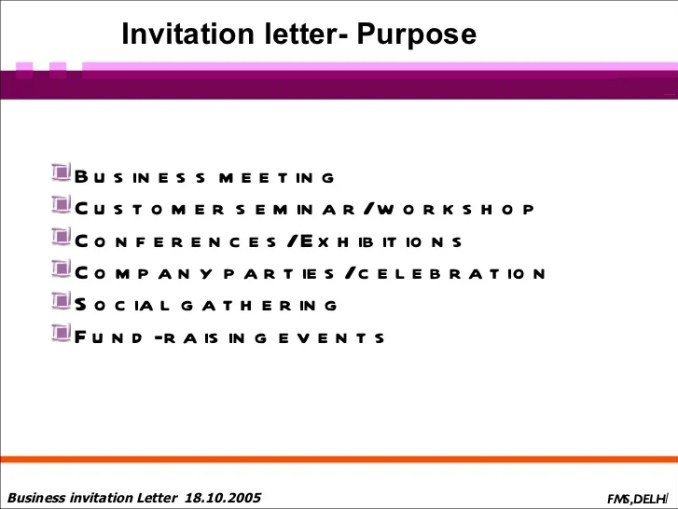 invitation letter to customer | Newsinvitation.co