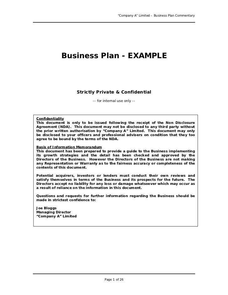 Sample veterinary business plan