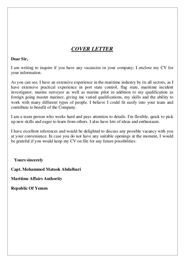 The Jamaican Jobs Wanted Forum   Post and Search for Jobs for Free   Jobs Vacancy in Pakistan      Application Letter Sample For Any Vacant Position Sample Cover Letter For Job  Application Any Position Cover