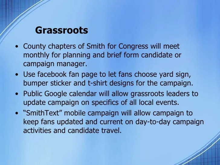 Campaign Plan Template 71310
