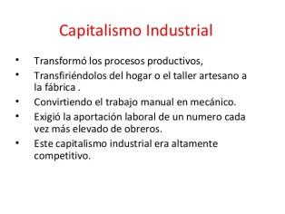 Resultado de imagen de capitalismo industrial Imágenes