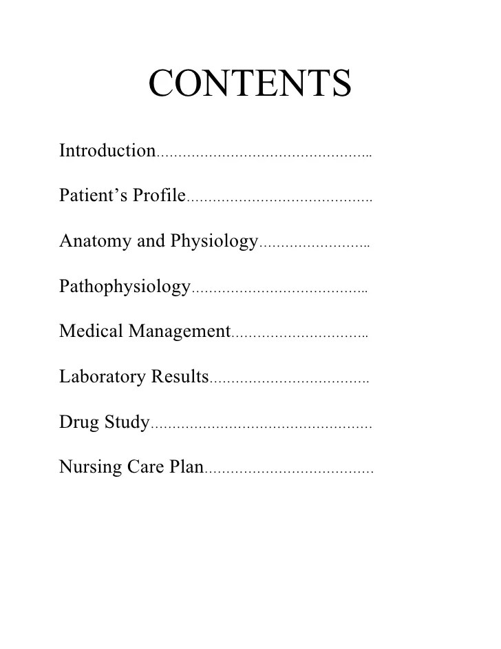 Case Study   Writing forCollege medical case study report example