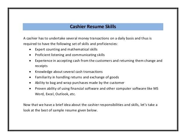 resumes grocery store cashier resume volumetrics co