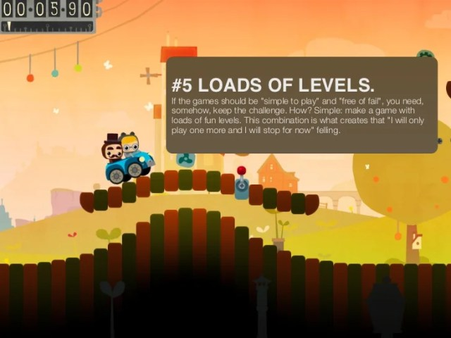 10 tips on how to make a casual game of success for the iPhone and An    7