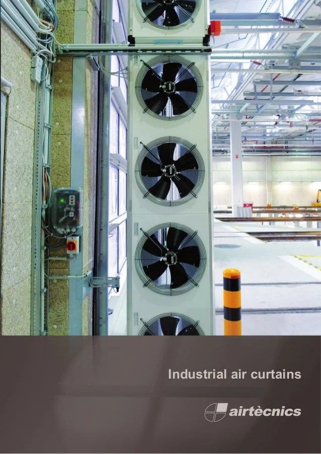 industrial air curtains catalogue