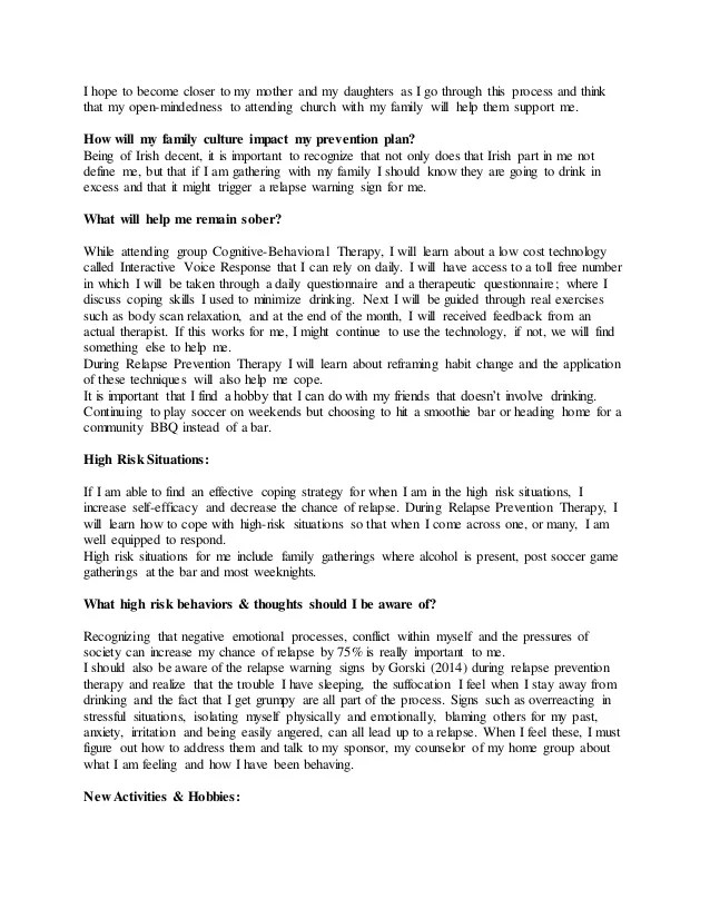 addiction success example resume and cover letter