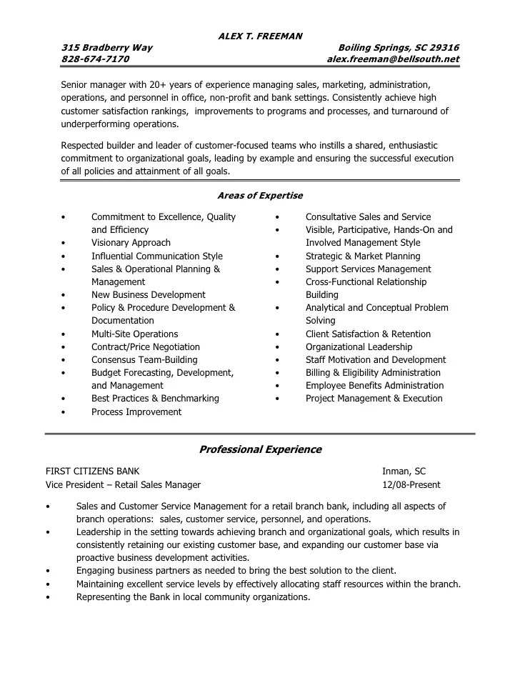 bank branch operations manager resume sample staffing branch sample resume operations manager