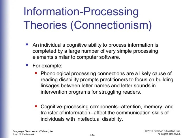 Freud On Information Processing Theory