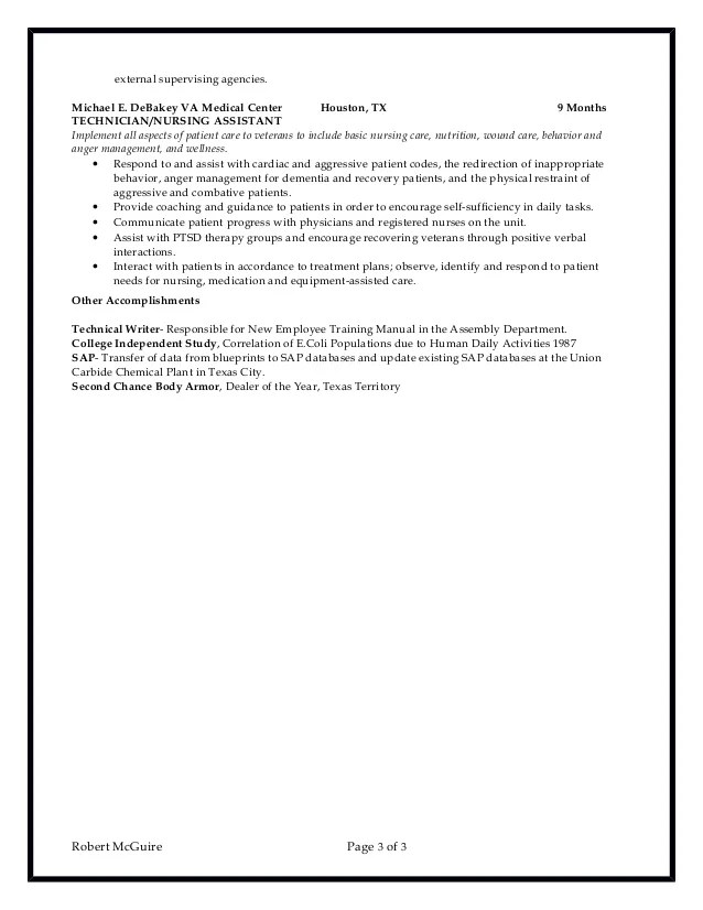central sterile processing technician sample resume resume sample