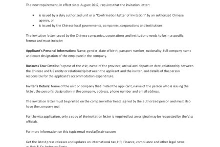 China invitation letter for business visa free professional resume sample invitation letter of duly authorized unit for china visa sample invitation letter of duly authorized unit for china visa application invitation stopboris Images