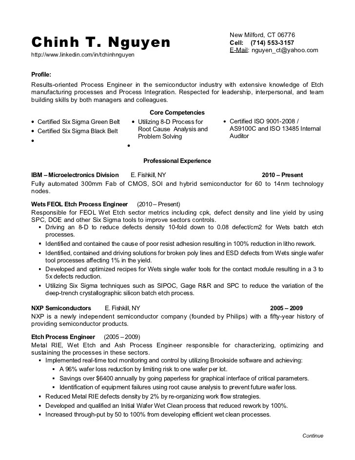 Non Profit Executive LinkedIn Resume Application Careers IT Support Engineering  Resume  Rf Engineer Resume