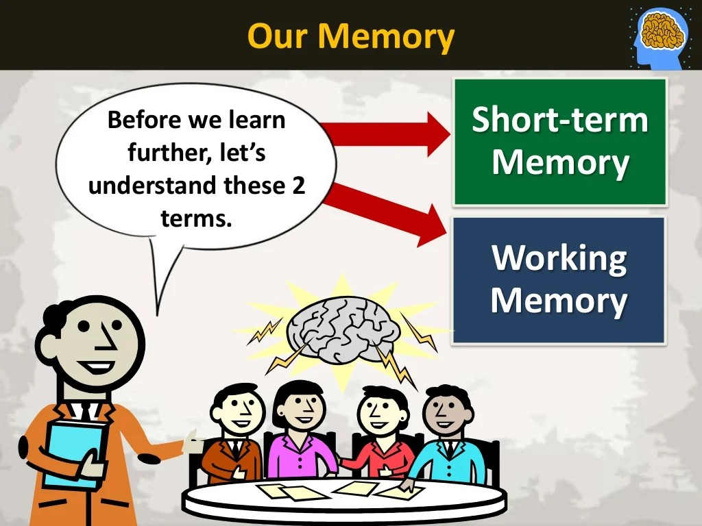 What Is Short Term Memory Stores