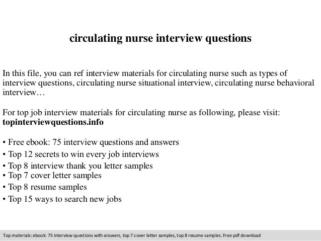 Or Circulating Nurse Resume. sample resume for nurses with ...
