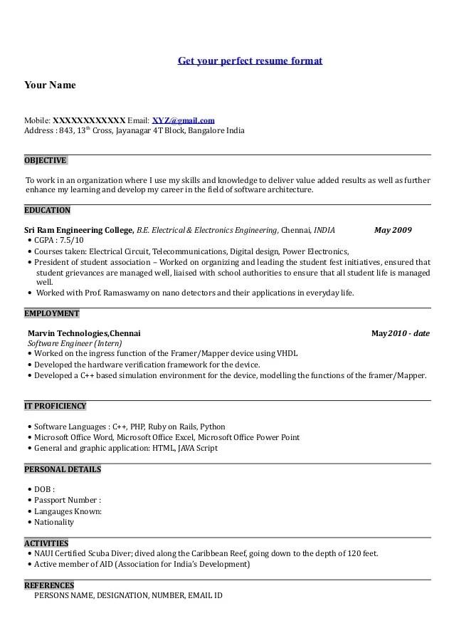 Skills Based Resume Format. Resume Skills Based Resume Example