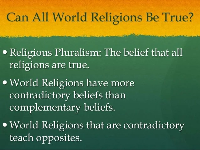 Image result for how many Christian denominations claim truth