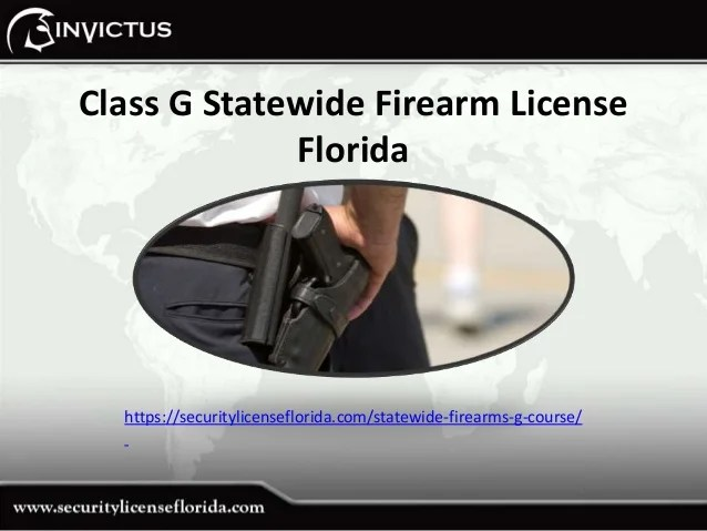 Security G License Training