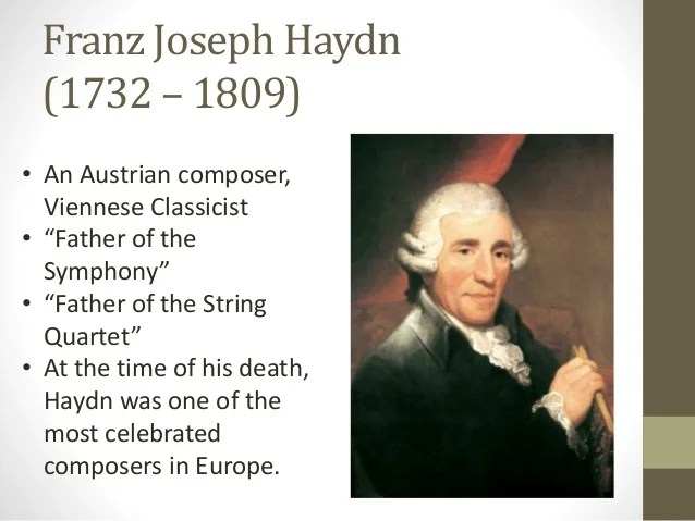 Image result for classical composer haydn
