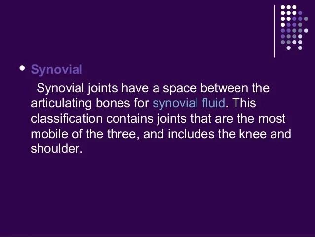 3 Types Synarthrodial Joints
