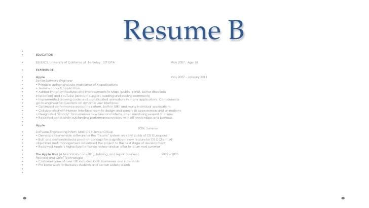 Image Result For Resume Software Engineer