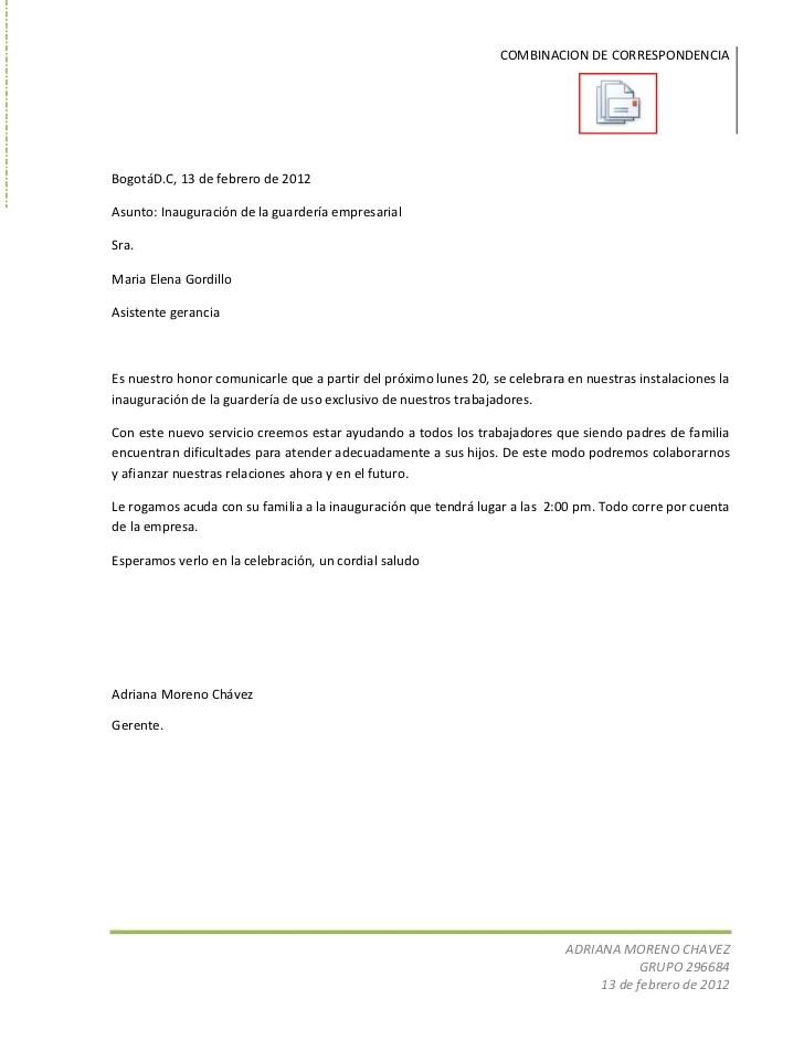 Manual Combinacin De Correspondencia