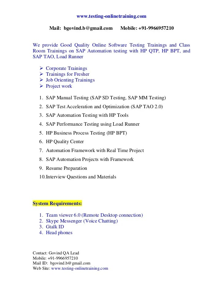 Sap Tester Resume  accounting assistant resume mba best well