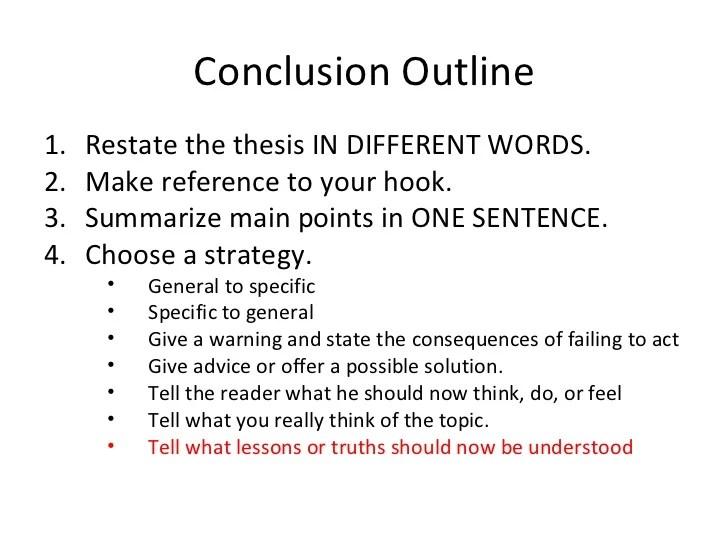 Scientific Conclusion Outline For Essays - image 10