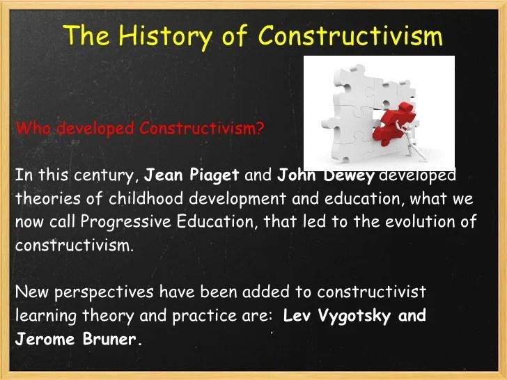 constructivism by bruner