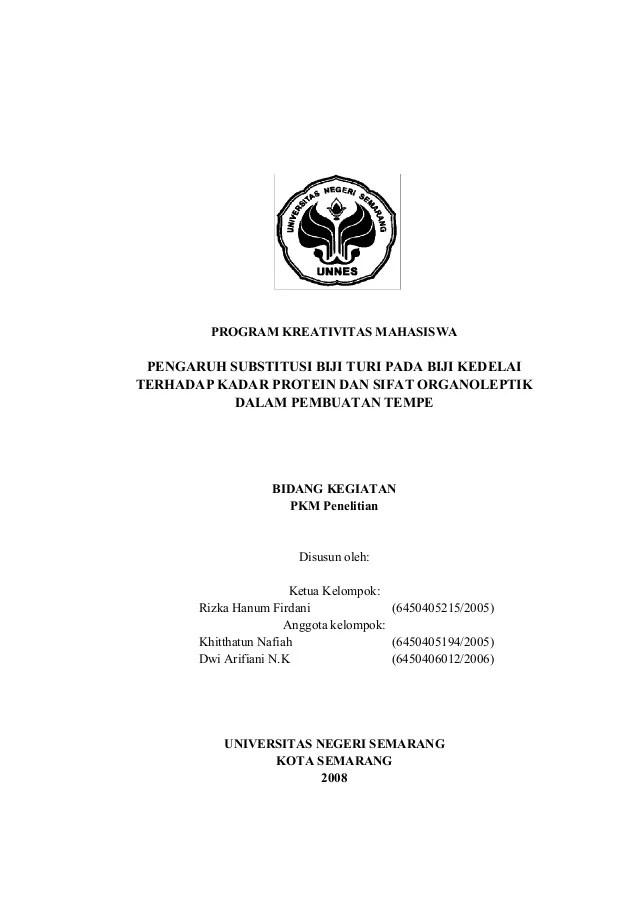 Contoh Proposal Penelitian Kesehatan Lengkap