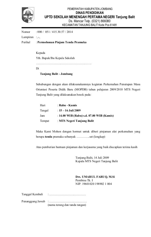 Contoh Proposal Kegiatan Pramuka - gaurani almightywind info