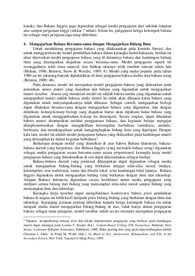 Contoh Artikel Non Penelitian Tentang Pendidikan Alifmedia