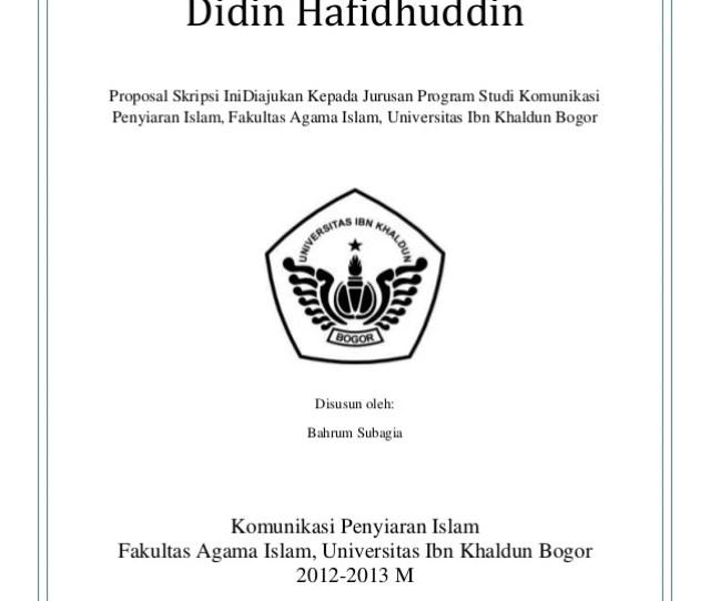 Contoh Soal Dan Materi Pelajaran 2 Contoh Skripsi Fakultas Hukum