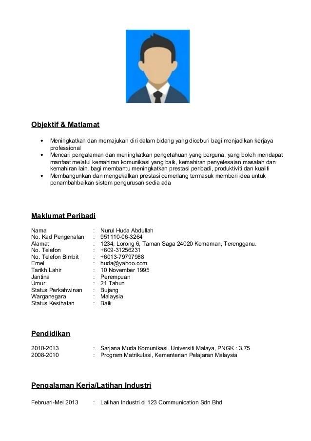 Format Resume Bahasa Melayu Doc | BestSellerBookDB