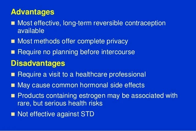 Patch Contraceptive Side Effects