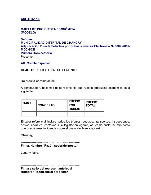 formato resumen ejecutivo osce resumen ejecutivo estudio de