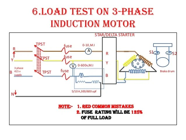 Load test on three phase induction motor circuit diagram circuit diagram of load test on 3 phase induction motor somurich com swarovskicordoba Images