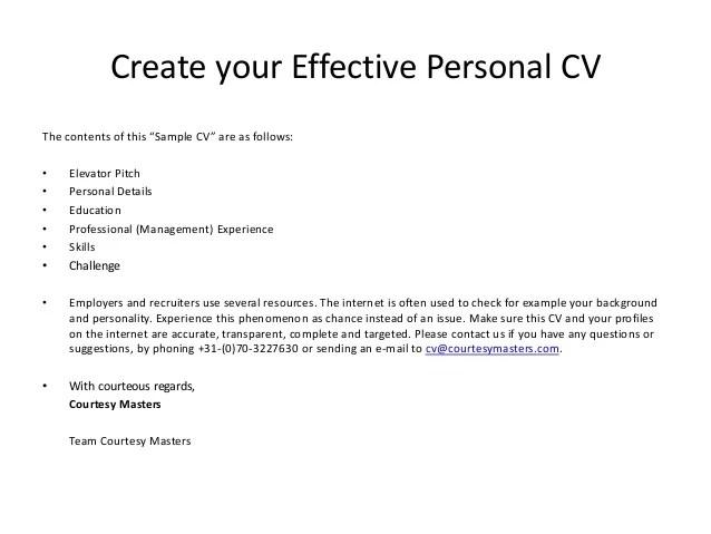 An Effective Resume Sample. Effective Resume Samples. 2 Letter