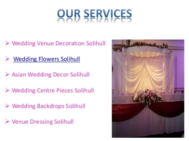 Asian Wedding Flower, Chair Cover Hire Birmingham Solihull
