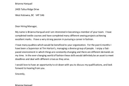 job letter format for an email application best of how to email ...