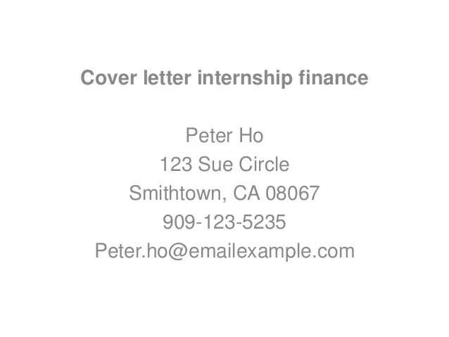 3 tips to write application letter for accounting intern ...