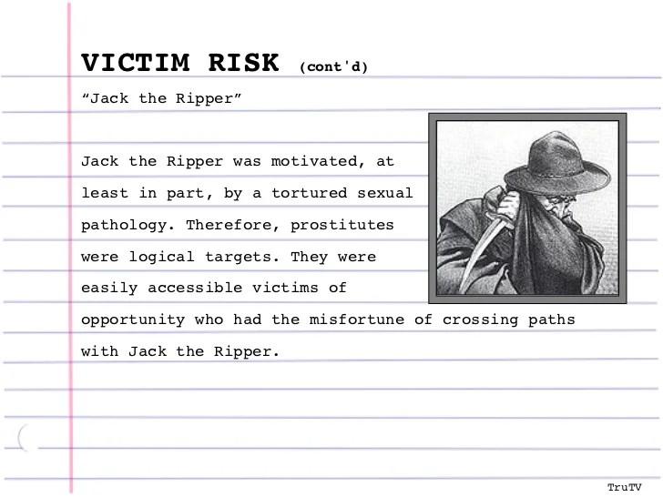Criminal Profile Template Profiling