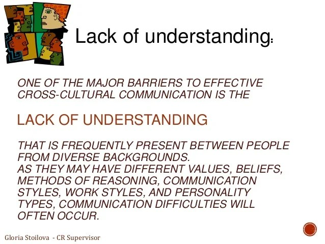 Types Cross Cultural Barriers Communication