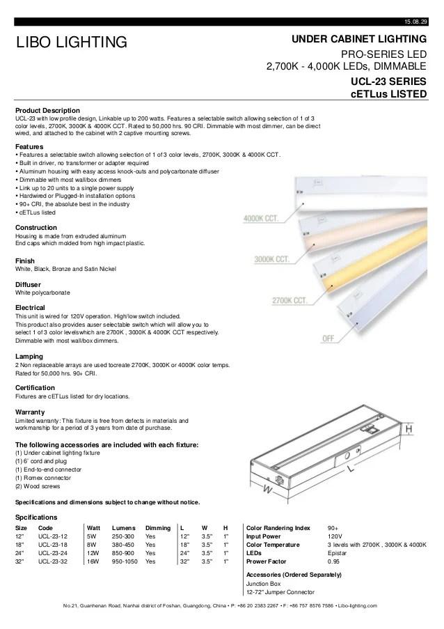 color changing led under cabinet light