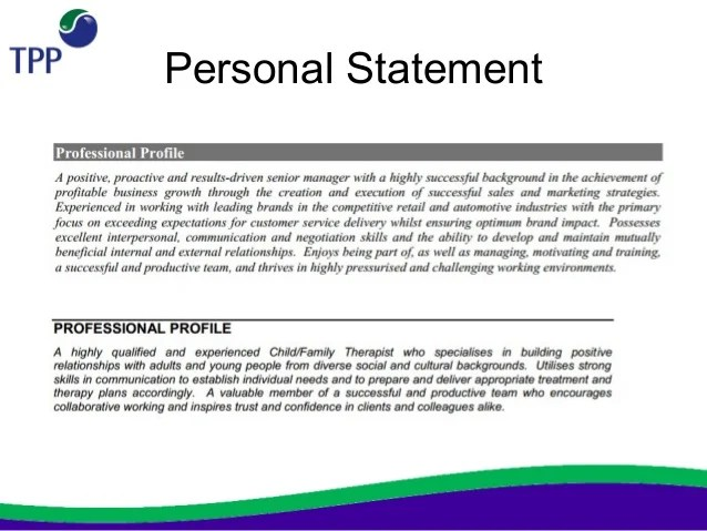 what should i write in a personal statement in a cv If one things gets read on your cv it will be your personal profile so how do you write a  how to write a great personal profile on your cv  statement might.